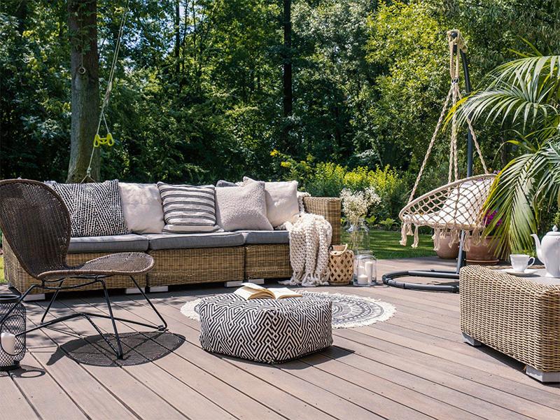 Les points essentiels à tenir compte pour l'aménagement d'une terrasse de jardin
